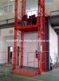 Table élévatrice hydraulique verticale prouvée par CE de cargaison