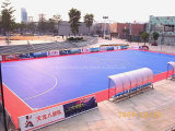 Cag que enclavija el azulejo de suelo de Futsal, azulejo de suelo de la corte de Futsal