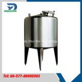 Réservoir de stockage de lait d'acier inoxydable de catégorie comestible