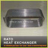Échange thermique de tube en aluminium pour le chauffage d'eau