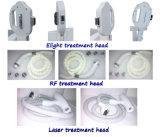 Carrocería de la cara del RF que levanta la máquina del retiro del pelo del laser del retiro de la cicatriz del acné del rejuvenecimiento de la piel de la E-Luz del IPL Shr