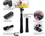 Mini Selfie Stick Bluetooth Monopod Selfie 8in1 Kit (OM-RK86)