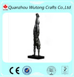 Figurine nue de Polyresin de statue nue d'homme de type de l'Europe