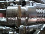 Manguito del metal flexible del acero inoxidable con el conector