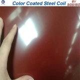 Цвет листа толя строительного материала покрыл Prepainted катушку PPGI стальную