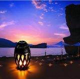 유행 Bluetooth 스피커 침대 탁자 램프 음악 밤 빛 무선 스피커