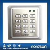 Clavier numérique de contrôle d'accès de carte de la fin de support Nt-130 contenant 2000 usagers avec le code