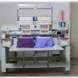 Изготовление китайца машины вышивки крышки компьютера 2 компьютеризированное головкой