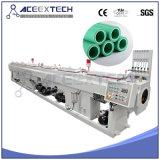 Extrusion en plastique de production de pipe d'approvisionnement en eau de gaz de PVC de PE de HDPE faisant la machine