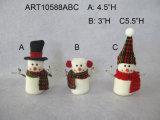 O Feliz Natal dirige o Marshmallow do boneco de neve da decoração