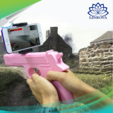 Bluetooth portable AR hace fuego sobre el arma del juego de AR del juguete del estilo 3D Vr para el teléfono móvil