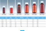 100ml de bruine Plastic Fles van het Huisdier voor Mondelinge Vloeibare Verpakking