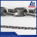 Catena a maglia standard dell'acciaio inossidabile DIN5685
