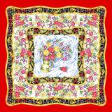 Écharpe florale de grand dos de fleur