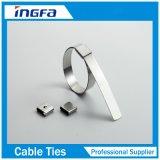 Laços do fecho de correr do aço inoxidável da manufatura de China com a extremidade 250mm da esfera livre 400mm