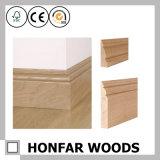 Placa de contorno personalizada da madeira contínua para o edifício do hotel