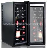 refrigerador termoeléctrico del vino 12bottles, con la aprobación de Ce/CB/RoHS