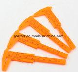 Étrier vernier en plastique 0-80mm d'ABS avec le prix bas en vente en vrac