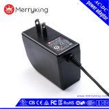 adattatore del rifornimento di corrente continua Dell'input 24V 1A di CA 100-240V per l'indicatore luminoso del LED