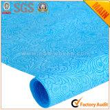 Nonwoven花のギフトの包装紙のrolls第22湖の青