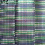 Baumwollpopelin-gesponnenes Garn gefärbtes Gewebe 100% für Hemden/Kleid Rls40-7po