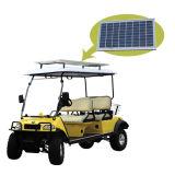 Véhicule utilitaire avec des erreurs 4seat de golf de panneau solaire