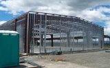 Helle Herstellungs-helle Stahlrahmen-Lager-vorfabrizierthalle