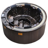 Doha Round SPA avec 65 Jets 14 LED Lights Pop-up TV