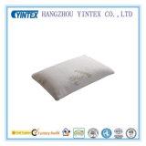 Gomma piuma tagliuzzata di memoria con il cuscino di bambù smontabile del coperchio della fibra