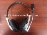 Usb-Kopfhörer VoIP Hörmuschel-Kopfhörer-Kopfhörer mit Mic für Mortolora