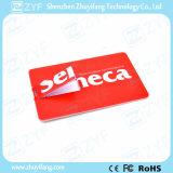 Drive USB 8GB par la carte de crédit de dessin-modèle de cadeau fait sur commande de campagne (ZYF1828)