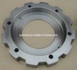 O aço personalizado forjou a flange com fazer à máquina do CNC