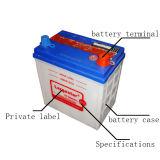 Ns40L 12V32ah linkshändige Entwurfs-trockener Speicher-Autobatterie