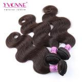 Cabelo dos Peruvian da cor #2 do cabelo humano de 100%