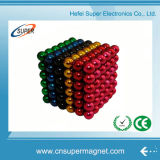 Imanes de gran alcance coloridos Neocube de N35 (D4mm) NdFeB