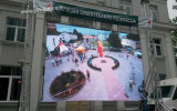 P5 esterno che fa pubblicità alla video parete del LED con il comitato locativo di disegno (640X640mm)