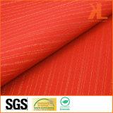 Del poliestere di larghezza di colore rosso fuoco largo inerentemente/tessuto a prova di fuoco ignifugo di mancanza di corrente elettrica