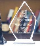 Premio di cristallo del metallo del trofeo all'ingrosso di buona qualità per l'evento di Impotation