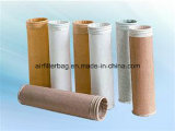 Saco de filtro do poliéster do saco de filtro da poeira para o filtro de ar
