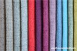 Tissu de sofa de qualité d'usine de fabrication avec le type de toile