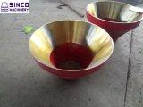 Kegel-Zerkleinerungsmaschine-hoher Mangan-Stahl-Umhang und konkav