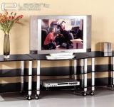 2015 heißer Sale Hot Bent Tempered Glass Fernsehapparat Stand für LCD-Fernsehapparat