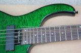 Guitare basse électrique de module de jaspe musique/5-String de Hanhai avec le corps d'aulne