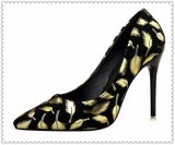 Венчание высокого качества женщин обувает ботинки вечера высокой пятки повелительниц оптовые шикарные