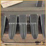 Excavatrices modifiant les pièces de rechange de dents de position pour des machines de construction