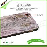 Caja de madera del teléfono del modelo TPU/caja del teléfono celular