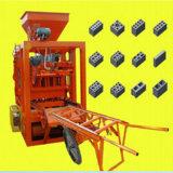 Ligne concrète de machine de fabrication de brique