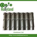 Het met een laag bedekte & In reliëf gemaakte Blad van de Rol van het Aluminium (ALC1118)