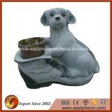 Симпатичный камень сада собаки для украшения