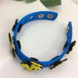 2016 нов популярно Wristbands шаржа подгонянных силиконом